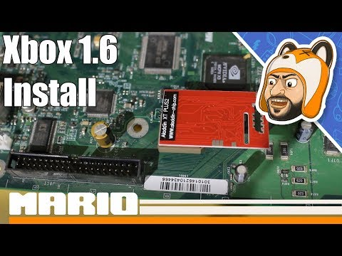 How to Install an Aladdin XT Plus2 Modchip in a Xbox 1 6 - YouTube