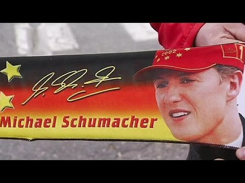 Ferrari fans hold vigil on Schumacher's birthday