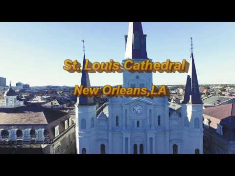 St. Louis Cathedral & JAX Brewery, New Orleans,LA