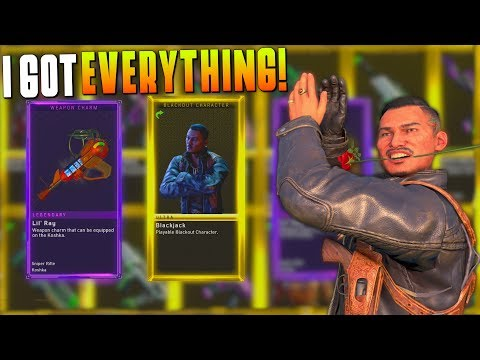 I GOT BLACKJACK & ALL OTHER NEW ITEMS! (BO4 Supply Drop Opening) NEW WEAPONS! #MatMicMar