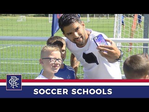 SOCCER SCHOOLS    Daniel Candeias Visits