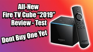 "All-New Fire TV Cube 2nd Gen ""2019"" Review - Test"