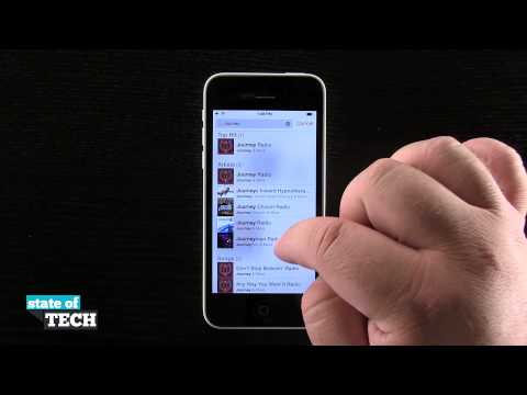 iPhone 5C Quick Tips - Using iTunes Radio