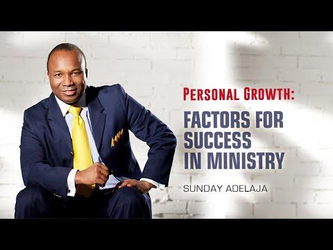 Sunday Adelaja - Factors Of Success In Ministry