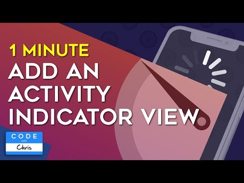 How to Add an Activity Indicator View in One Minute thumbnail