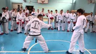 Taekwon Do Sparring seminar with Masimov, Tural 24 25 10 15