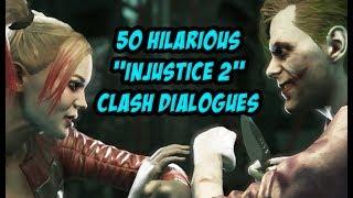 """50 Hilarious """"Injustice 2"""" Clash Dialogues"""