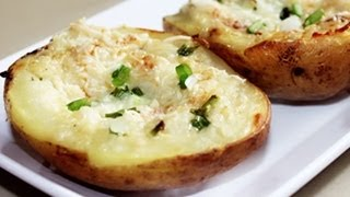 Twice Baked Potatoes - Quick Appetizer Recipe