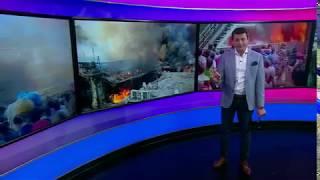 حريق العتبة في مصر يلتهم محال تجارية ويسبب خسائر فادحة
