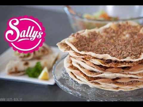 Lahmacun Rezept - türkische Pizza / einfach & lecker / Sallys Welt