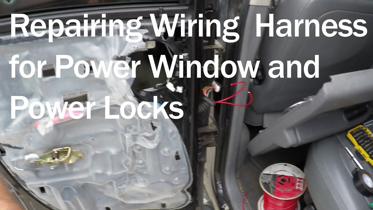 2008 Dodge Ram Wiring Diagram 88 Mustang Alternator Power Locks Window Not Working On 2500 How To Repair