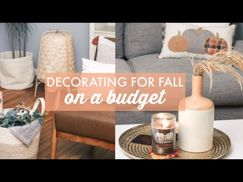 Fall Decorating on a Budget | Fall Home Decor DIYs 2019