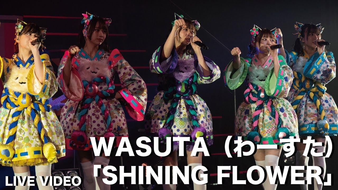 わーすた (WASUTA) – SHINING FLOWER [live]