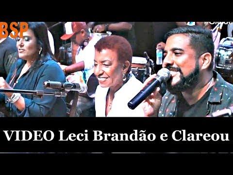 DVD LECI BRANDÃO E CLAREOU - HOMENAGEM 2018 BSP