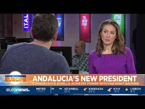 Andalucia's new president Juan Moreno Borilla becomes president | #GME