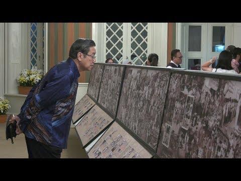 Tuanku Muhriz launches Jalan Merdeka exhibition