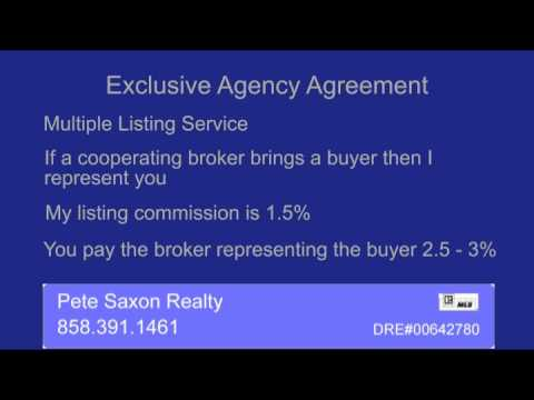 Pete Saxon Realty Exclusive Agency Listing Youtube