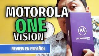 MOTOROLA ONE VISION REVIEW EN ESPAÑOL: ¿El rey de la gama media?