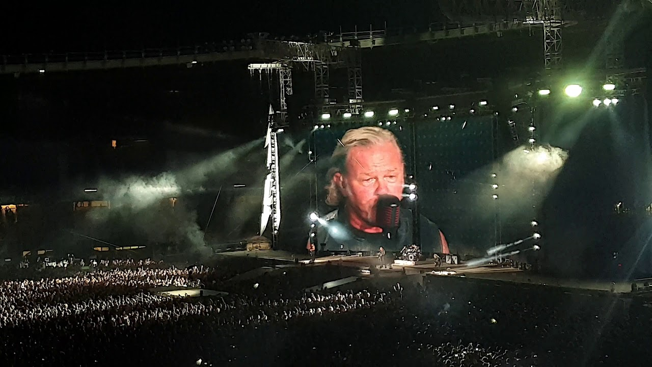 Metallica Wien The Memory Remains 2019 17 08 Youtube