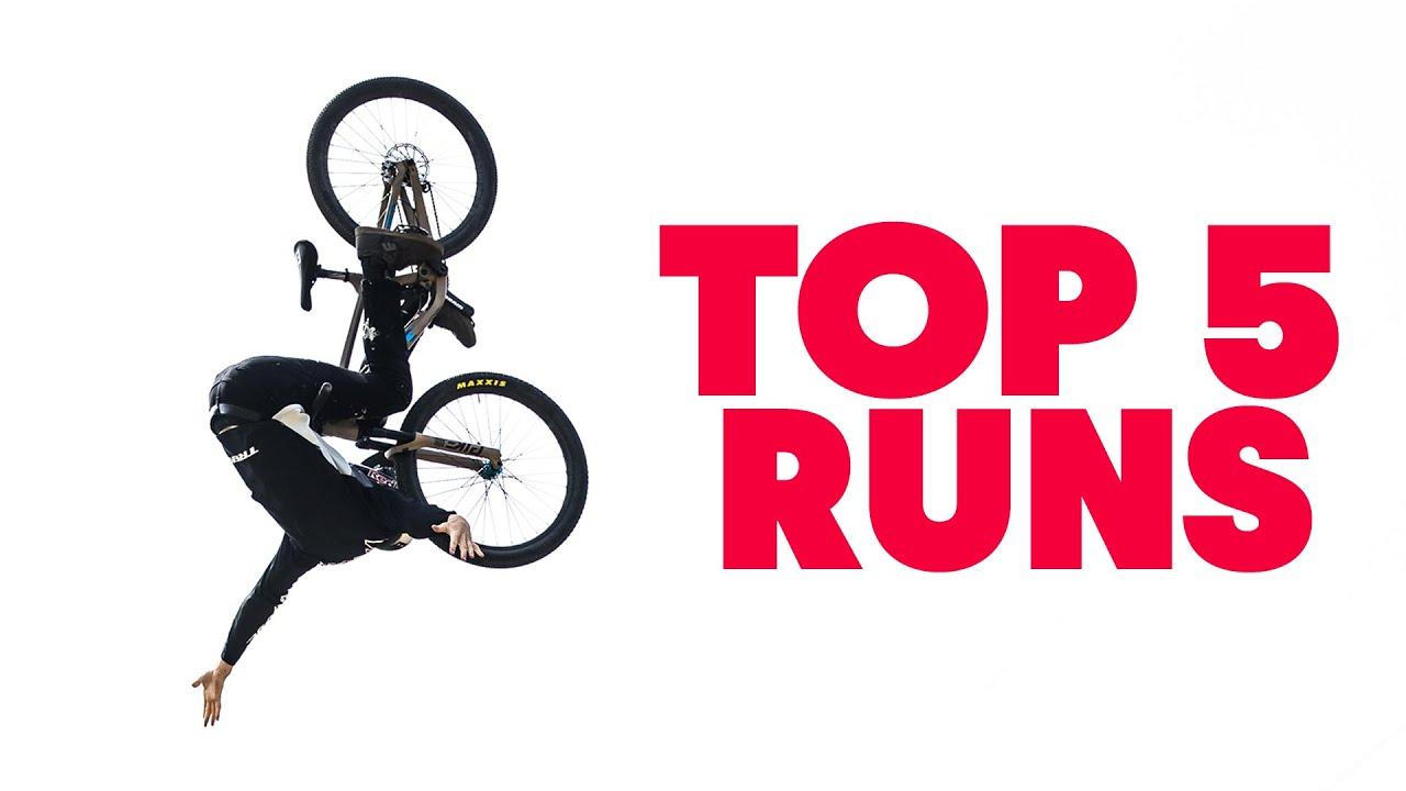 Top 5 Slopestyle Runs | Crankworx Innsbruck 2021