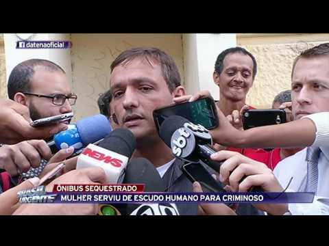 Ônibus é sequestrado no Rio de Janeiro
