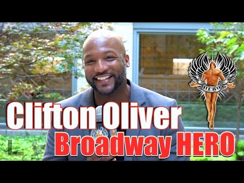 """Broadway HERO of the Month"" Clifton Oliver for HERONEWS.org -  full Interview"