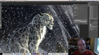 Live Stream - Live Drawing a Snow Leopard