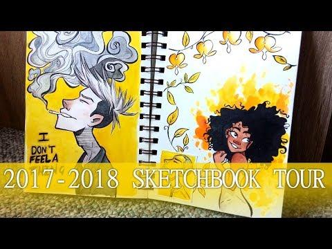 Sketchbook Tour 2017-2018
