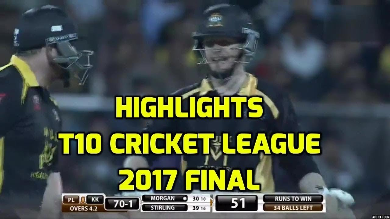 T10 Final Highlights KK vs PL | Full Match Highlights