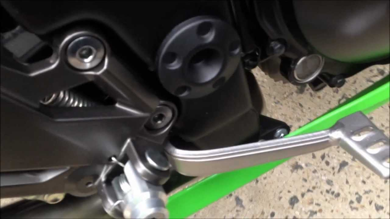 Kawasaki Foot Pegs