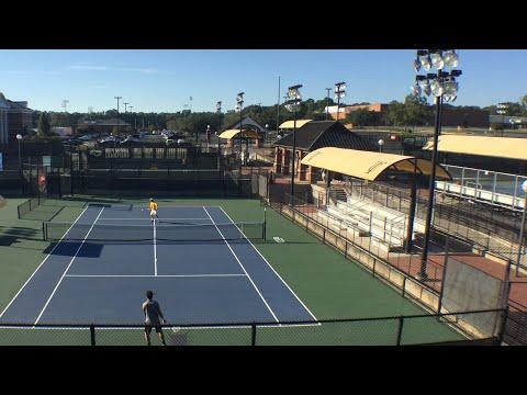 2017 Fall Regional Finals- TJC Walters vs. TJC Martinez: Men's Tennis