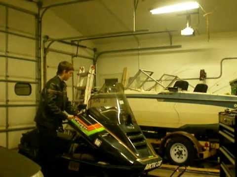 1989 Arctic Cat Cougar 500 AFS