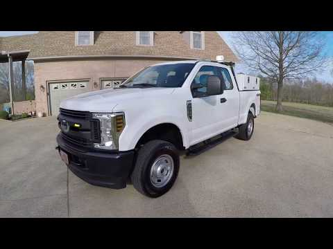 West Tn 2019 Ford F250 XL 6 2L V8 Utility Work Truck Inverter strobe lights for sale price www sunse