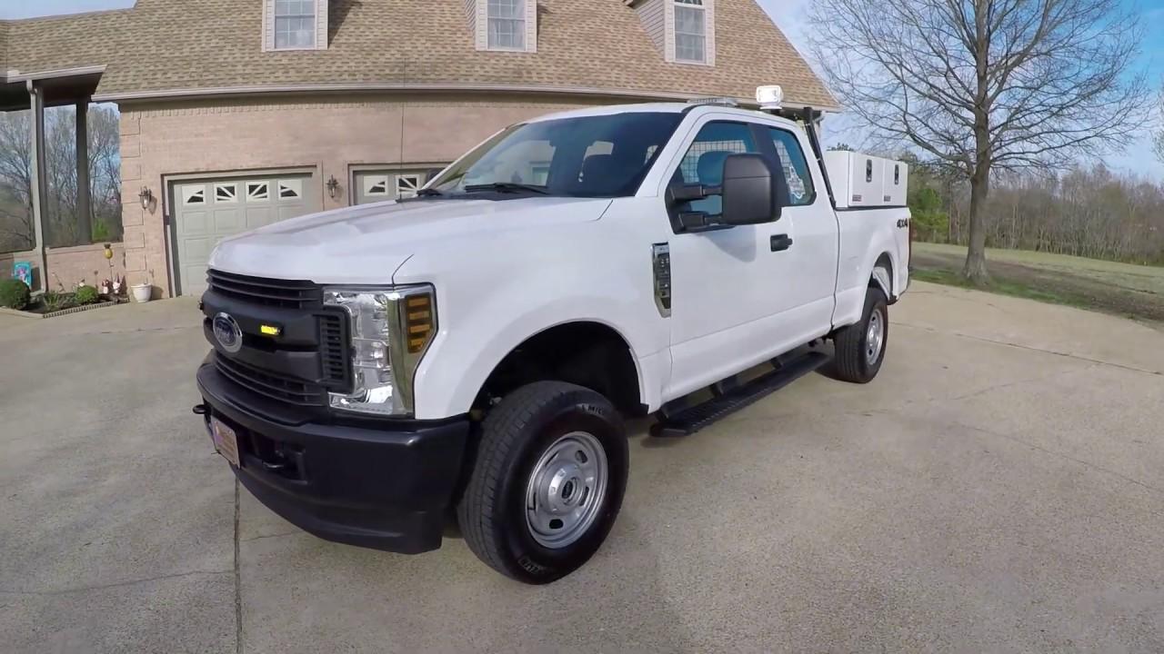 west tn 2019 ford f250 xl 6 2l v8 utility work truck inverter strobe lights for sale price