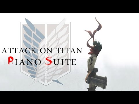 Attack on Titan Piano Suite [Sheets Available][4k]