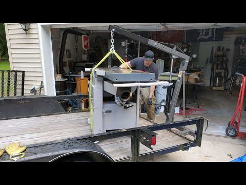 30×40 Shop Part 2: Moving The Tools