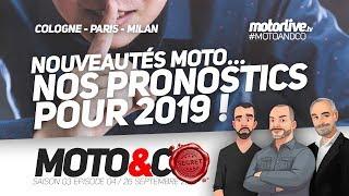 NOUVEAUTÉS MOTO 2019 : NOS PRONOSTICS ! | MOTO&CO 304