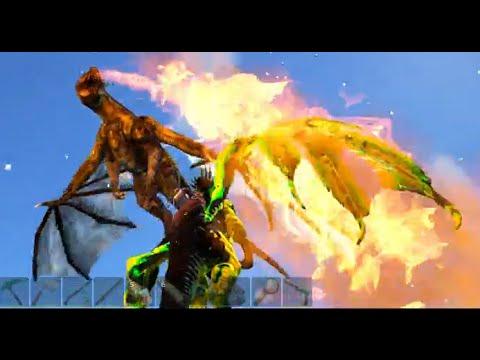 Poison Drake, Wyvern fighting, Quetz taming - Modded Ark Survival Season 2 E38