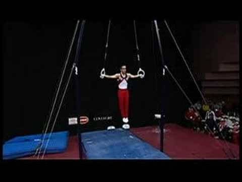 Paul Hamm on Rings at 2008 Pacific Rim