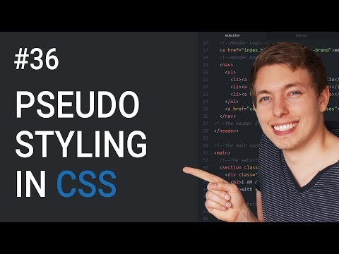 36: CSS Pseudo Elements and Classes | Style Part of an Element | Learn HTML & CSS | HTML Tutorial