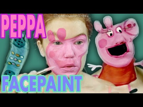 Scottro - Peppa Pig Makeup Tutorial Will Keep You Up At Night