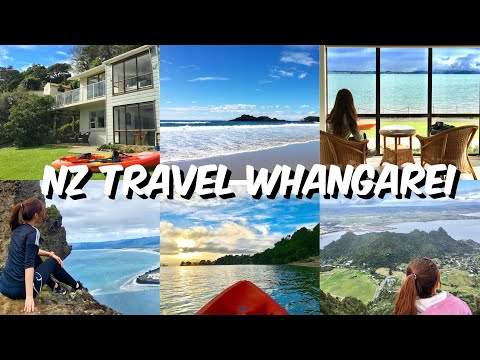 NZ Travel Vlog EP3- North Island- Road Trip To Whangarei!