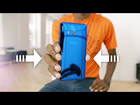 Thumbnail: HTC U11: The Squeeze Phone?!