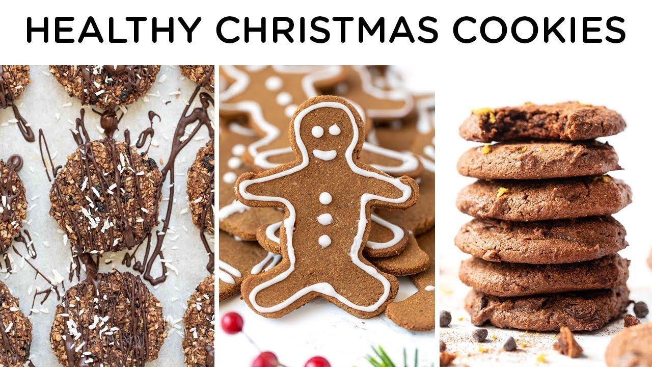 Healthy Christmas Cookies Gluten Free Delicious