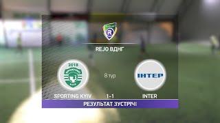 Обзор матча Sporting Kyiv INTER Турнир по мини футболу в Киеве