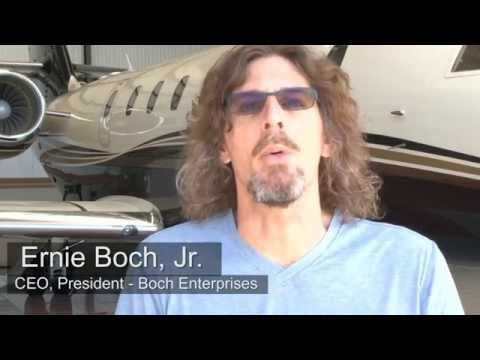 Ernie Boch Jr for Private Jet Services