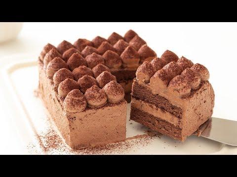 チョコレートケーキの作り方 Chocolate Cake HidaMari Cooking