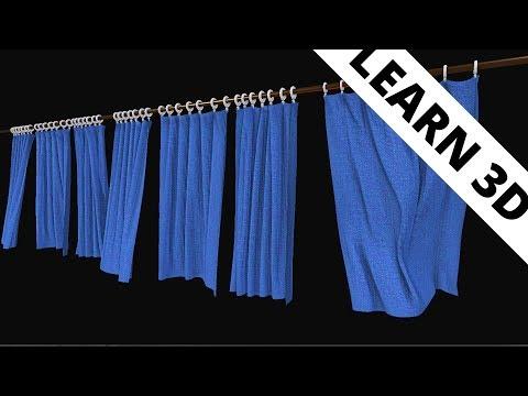 Blender tutorial: Curtains
