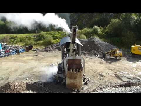 Ruston Hooley Steam Navvy Shovel Threlkeld Quarry 2016