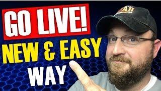 Easy Way to Live Stream